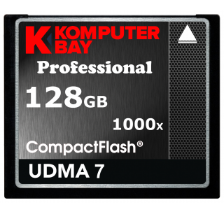 Komputerbay 128GB Professional COMPACT FLASH CARD CF 1000X 150MB/s Extreme Speed UDMA 7 RAW 128 GB