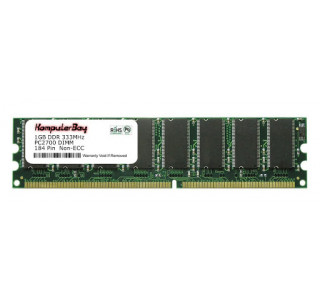 Image for Komputerbay 1GB DDR DIMM (184 PIN) 333Mhz DDR333 PC2700 FOR Hewlett Packard/Compaq  Pavilion t370.se 1 GB