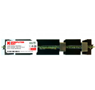 KOMPUTERBAY 4GB PC2-6400 (800Mhz) 240 pin DDR2 DIMM ECC Fully Buffered Apple (CDC)