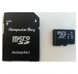 Image for Komputerbay 64GB Micro SDXC MicroSDXC Class 6 High Speed Memory Card with SD Adapter and USB Reader
