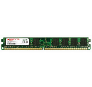 Komputerbay 2GB (1X 2GB) DDR2 800MHz PC2-6300 PC2-6400 (240 PIN) DIMM Desktop Memory with Samsung Semiconductors