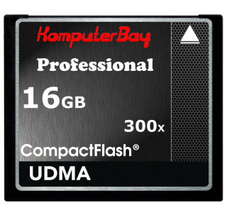 Komputerbay 16GB High Speed Compact Flash CF 300X Ultra High Speed Card 10MB/s Write and 52MB/s Read