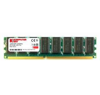 KOMPUTERBAY 1GB DDR DIMM (184 PIN) 266Mhz DDR266 PC2100 DESKTOP MEMORY WITH SAMSUNG CHIPS