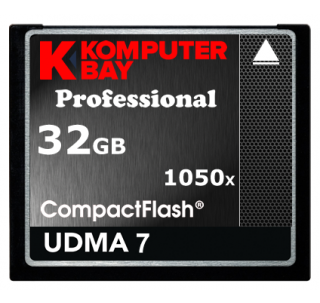 Komputerbay 32GB Professional Compact Flash card CF 1050X write100MB/s  read 160MB/s Extreme Speed UDMA 7 RAW 32 GB