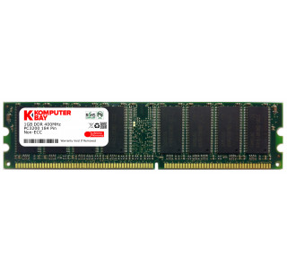Komputerbay 1GB DDR DIMM (184 PIN) 400MHz DDR400 PC3200 DESKTOP MEMORY WITH SAMSUNG CHIPS CL 3.0