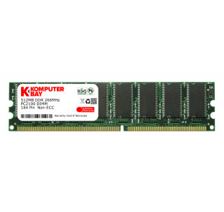 Komputerbay 512MB DDR PC2700 333MHz 184 Pin DIMM 2.5v 512 MB