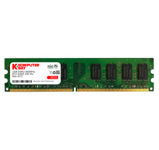 Komputerbay 1GB DDR2 PC2 6400 800Mhz 240 Pin DIMM 1 GB