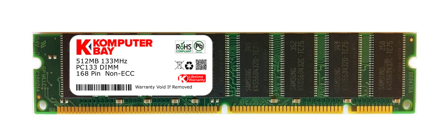 256MB PC133 133MHz 168-PIN SDRAM DIMM MEMORY RAM FOR SYNTHESIZER KEYBOARDS