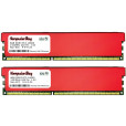 Image for Komputerbay 16GB (2x 8GB) DDR3 PC3-10600 1333MHz DIMM with Red Heatspreaders 240-Pin RAM Desktop Memory 9-9-9-25 XMP ready
