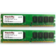 Image for Komputerbay 2GB 2x 1GB DDR2 PC2 5300 667Mhz 240 Pin DIMM 2 GB KIT
