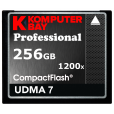 KOMPUTERBAY 256GB Professional COMPACT FLASH CARD CF 1200X WRITE 140MB/s READ 180MB/s Extreme Speed UDMA 7 RAW 256 GB
