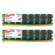 KOMPUTERBAY 2GB ( 2 X 1GB ) DDR DIMM (184 PIN) 266Mhz DDR266 PC2100 DESKTOP MEMORY WITH SAMSUNG CHIPS