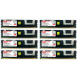 Komputerbay 32GB (8x 4GB) DDR2 PC2-5300F 667MHz CL5 ECC Fully Buffered FB-DIMM (240 PIN) 32 GB w/ Heatspreaders