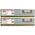 Komputerbay 4GB (2x 2GB) DDR2 PC2-5300F 667MHz CL5 ECC Fully Buffered 2Rx4 FB-DIMM (240 PIN) w/ Heatspreaders