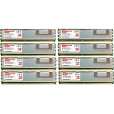Komputerbay 16GB (8x 2GB) DDR2 PC2-5300F 667MHz CL5 ECC Fully Buffered 2Rx4 FB-DIMM (240 PIN) w/ Heatspreaders