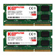 Komputerbay 16GB (2 x 8GB) PC3-10600 1333MHz 204-Pin SODIMM 10666 portable memory 9-9-9-24 PC only - not MAC