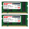 "Komputerbay MACMEMORY 6GB Kit (4GB + 2GB Modules) PC2-6300 800MHz DDR2 SODIMM for Apple iMac 24"" 2008 2.8GHz, 3.06GHz"