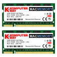 Komputerbay MACMEMORY 6GB Kit (4GB + 2GB Modules) PC2-5300 667MHz DDR2 SODIMM for Apple MacBook Pro early 2009 MacBook 5,2 2.0GHz