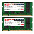 Komputerbay MACMEMORY 6GB Kit (4GB + 2GB Modules) PC2-5300 667MHz DDR2 SODIMM for Apple MacBook Pro mid-/late 2007 2.0GHz 2.2GHz