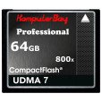 KOMPUTERBAY 64GB Professional COMPACT FLASH CARD CF 800X WRITE 75MB/s READ 120MB/s Extreme Speed UDMA 7 RAW 64 GB