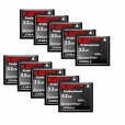 KOMPUTERBAY 10-PACK - 32GB Professional COMPACT FLASH CARD CF 600X 90MB/s Extreme Speed UDMA 6 RAW 32 GB