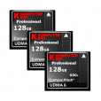KOMPUTERBAY 3-PACK - 128GB Professional Compact Flash Card CF 600X 90MB/s Extreme Speed UDMA 6 RAW 128 GB
