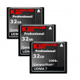 KOMPUTERBAY 3-PACK - 32GB Professional COMPACT FLASH CARD CF 1000X 150MB/s Extreme Speed UDMA 7 RAW 32 GB