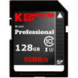 Komputerbay Professional 128 GB High Speed SDXC Class 10 UHS-I, U3 up to 95 MB/Sec Flash Card