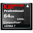 KOMPUTERBAY 64GB COMPACT FLASH CARD CF professional 1000X 140 MB/s Write and 155MB/s Read speed RAW Extreme 64 GB UDMA 7