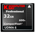 KOMPUTERBAY 32GB Professional COMPACT FLASH CARD CF 600X 90MB/s Extreme Speed UDMA 6 RAW 32 GB