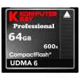 Komputerbay 64GB Professional COMPACT FLASH CARD CF 600X 90MB/s Extreme Speed UDMA 6 RAW 64 GB