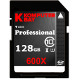 Komputerbay 128GB SDXC Secure Digital Extended Capacity Speed Class 10 600X UHS-I Ultra High Speed Flash Memory Card 60MB/s Write 90MB/s Read 128 GB