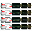 Komputerbay 16GB (4x 4GB) DDR2 PC2-5300F 667MHz CL5 ECC Fully Buffered FB-DIMM (240 PIN) 16 GB w/ Heatspreaders for Apple computers