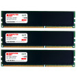 Komputerbay 24GB ( 3 X 8GB ) DDR3 PC3-12800 1600MHz DIMM with Low Profile Black Heatspreaders 240-Pin Dual / Quad Channel RAM Desktop Memory KIT 9-9-9-24 XMP ready