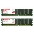 Komputerbay 2GB ( 2 x 1GB ) DDR DIMM (184 pin) 400Mhz PC 3200 Low Density CL2.5 2 GB KIT