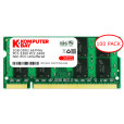 Komputerbay 100-PACK - 2GB DDR2 PC-5300/PC-5400 667MHz 200 Pin SODIMM Laptop Memory with Micron semiconductors