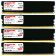 Komputerbay 32GB (4x 8GB) 240 Pin 1600MHz PC3-12800 DDR3 DIMM Dual/Quad Channel RAM Desktop Memory with Low Profile Heatspreaders - Black