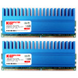 Komputerbay 4GB (2 X 2GB) DDR2 DIMM (240 pin) 1066MHZ PC2-8500 4 GB KIT with Crown Series Heatspreaders for extra Cooling CL 5-7-7-25