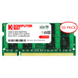 Komputerbay 50-PACK - 4GB DDR2 PC-6300/PC-6400 800MHz 200 Pin SODIMM Laptop Memory made with Micron semiconductors
