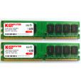 KOMPUTERBAY 8GB ( 2 X 4GB ) DDR2 DIMM (240 PIN) 800Mhz PC2 6400 PC2 6300 8 GB - CL 5