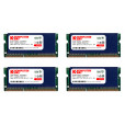 Komputerbay 32GB (4x 8GB) DDR3 PC3-12800 1600MHz SODIMM 204-Pin Laptop Memory 10-10-10-27 with Blue Heatspreaders