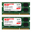 Komputerbay 16GB DDR3 (2x 8GB) PC3-10600 10666 1333MHz SODIMM 204-Pin Laptop Memory 9-9-9-25