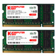 Komputerbay 6GB Kit (4GB + 2GB Modules) PC2-5300 667MHz DDR2 SODIMM for Dell Latitude D830 and D630