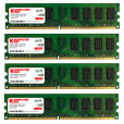 KOMPUTERBAY 8GB (4x 2GB) DDR2 667Mhz PC2 5300 PC2 5400 CL 5 DIMM (240 PIN) 8 GB AM2 - Only Works on AMD Motherboards