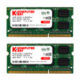 Komputerbay 8GB (2x 4GB) DDR3 SODIMM (204 pin) 1066Mhz PC3-8500 (7-7-7-20) Laptop Notebook Memory for Apple Macbook Pro