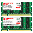 Komputerbay 8GB (2x 4GB) DDR2 667MHz PC2-5300 PC2-5400 SODIMM CL5 200-Pin 1.8v Unbuffered NON-ECC DDR2-667 Memory Modules