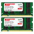 Komputerbay 2GB (2X1GB) DDR2 667MHz PC2-5300 PC2-5400 (200 PIN) SODIMM Laptop Memory with Samsung semiconductors