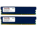 Image for Komputerbay 16GB ( 2 X 8GB ) DDR3 PC3-12800 1600MHz DIMM with Low Profile Blue Heatspreaders 240-Pin Dual / Quad Channel RAM Desktop Memory KIT 9-9-9-24 XMP ready