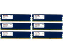 Image for Komputerbay 24GB (6 x 4GB) DDR3 DIMM (240 pin) 1600Mhz PC3 12800 24 GB KIT (9-9-9-25) RAM with heatspreader