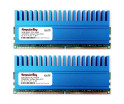 Image for Komputerbay 4GB (2 X 2GB) DDR2 DIMM (240 pin) 1066MHZ PC2-8500 4 GB KIT with Crown Series Heatspreaders for extra Cooling CL 5-7-7-25